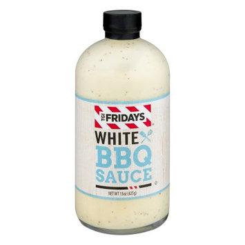 T G I Fridays TGI FRIDAYS BBQ Sauce, White, 15 Ounce