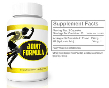 Joint Formula by Eyefive Relieve Pain and Strengthen Joints 60 Capsules