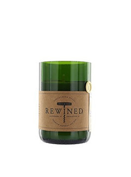 Rewined Candles Recycled Wine Bottle 60-80 Hour Soy Wax Candle - Champagne