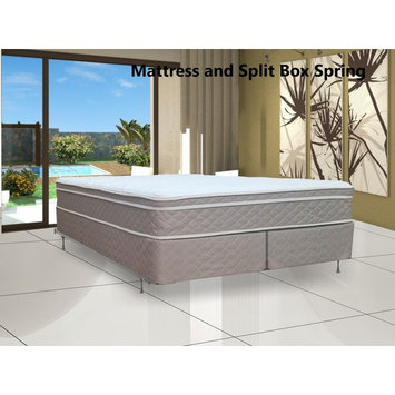 Continental Sleep, 9-inch Fully Assembled Innerspring Mattress and 8