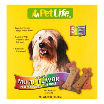Petstages Sunshine Mills PetLife Variety Pack Dry Dog Treat, 10 Lb