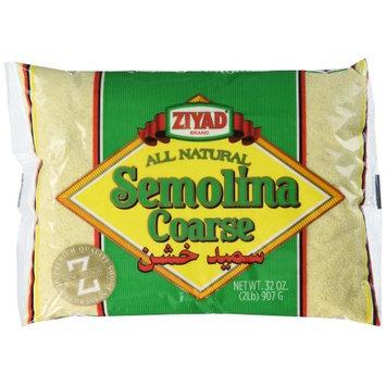 Ziyad Semolina #3 Coarse, 32 OZ (Pack of 2)