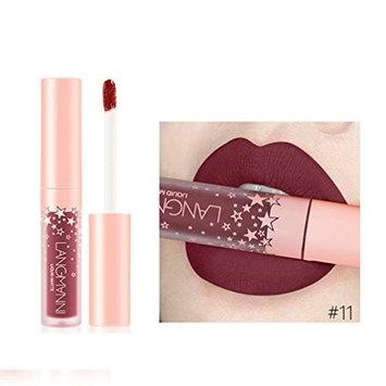 Sexy Womens Ladies Matte Waterproof Long Lasting Lip Gloss Bold Vivid Lip Liquid Makeup Lipstick