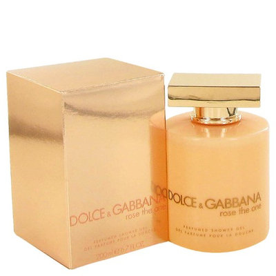 D & G Rose The One By Dolce & Gabbana For Women Shower Gel 6.8 Oz