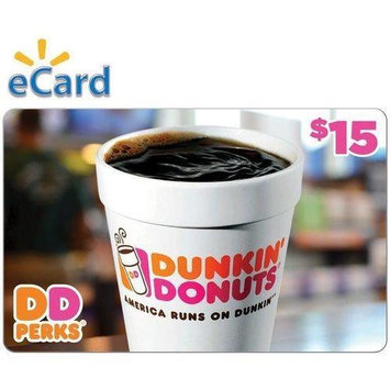 Dunkin Donuts $15 (Email Delivery)