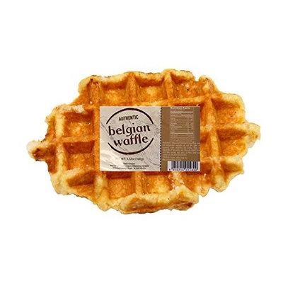 Natural Authentic Sweet Belgian Waffle with Pearl Sugar 3.52oz