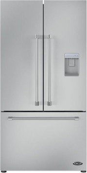 Dcs RF201ACUSX1 ActiveSmart Refrigerator 36 width ENERGY STAR French door Build In With Capacity 14.6 cu. Ft and Factory Installed Ice