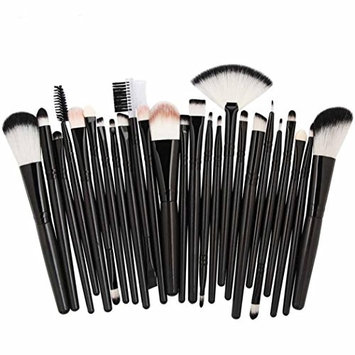 Exteren 25pc Cosmetic Makeup Brush Blusher Eye Shadow Brushes Set Kit Brushes for Makeup Set Blending Brush