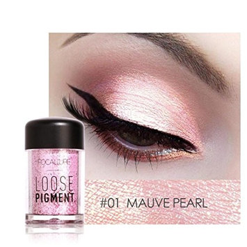 Binmer(TM) Focallure 12 Colors Eye Shadow Makeup Pearl Metallic Eyeshadow Palette