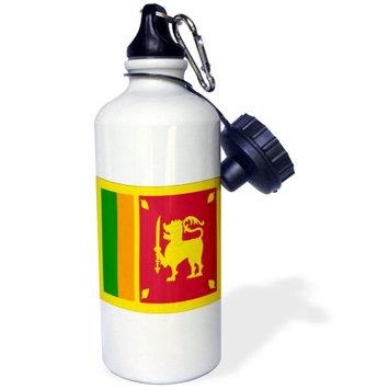 3dRose Sri Lanka Flag, Sports Water Bottle, 21oz