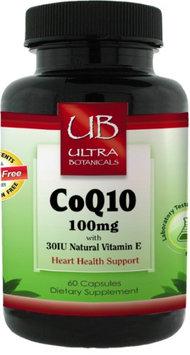 Ultra Botanicals CoQ10, 100mg, 60ct