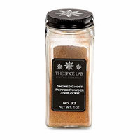 The Spice Lab No. 93 - Smoked Ghost Pepper Powder, French Jar - Kosher Non GMO Gluten Free