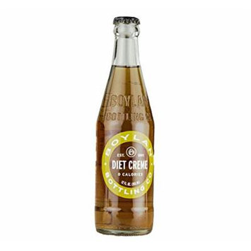 Boylan Diet Cream Soda 12 oz. (24 Bottles)