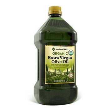 Member's Mark Organic Extra Virgin Olive Oil (68 oz.) (pack of 6)