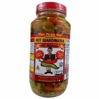 That Pickle Guy Chicago Style Giardiniera Hot, Raw, 24-ounce Jar