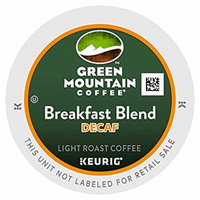 Green Mountain Breakfast Blend Decaf, Single Serve Coffee K-Cups, 48-Count For Brewers