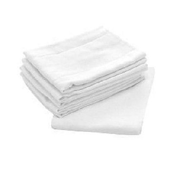 Central Better Wear Birdseyes White100-percent Cotton 27-inch x 27-inch Flat Cloth Diapers (Pack of 48)