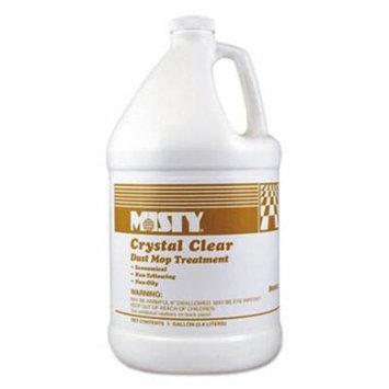 Misty 1003411EA 1 gal Bottle, Crystal Clear Dust Mop Treatment - Slightly Fruity Scent