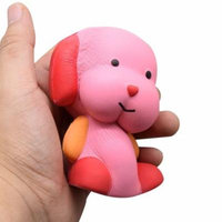 Mosunx Squeeze Jumbo Stress Stretch Dog Cream Scented Slow Rising Toys