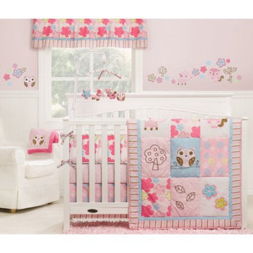 Graco Girl Woodland 4 Piece Crib Set
