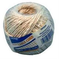 Cord Cbl No 24 280Ft 3Lb Ctn WELLINGTON-CORDAGE Twine 10334 Natural Cotton