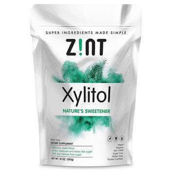 Zint, Organic Xylitol, Nature's Sweetener, 10 oz (283 g)