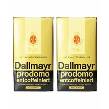 Dallmayr Decaffeinated Ground Coffee, 17.6 Ounce (Pack of 2)