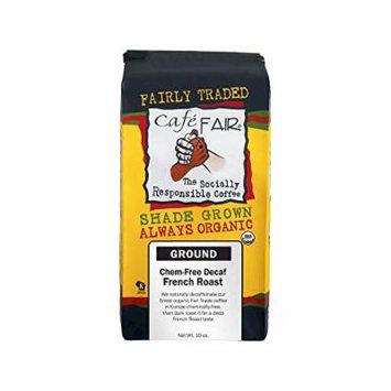 Steep & Brew Café Fair Decaf French Roast Ground Coffee 10oz