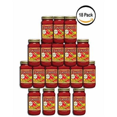 PACK OF 18 - Classico Pasta Sauce Spicy Red Pepper, 24.0 OZ