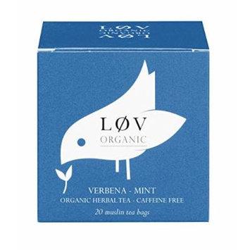 Verbena-Mint 20 muslin tea bags