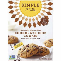 Simple Mills Gluten Free Almond Flour Mix Chocolate Chip Cookie -- 8.4 oz pack of 6