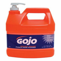 Gojo 1119557 Heavy Duty Pumice Hand Cleaner With Baby Oil, Citrus Scent, Natural Orange