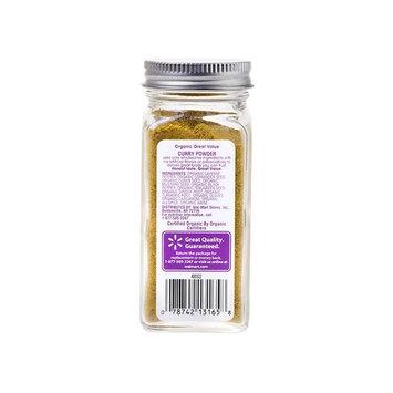 Great Value Organic Curry Powder, 1.8 oz