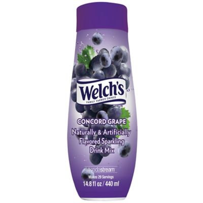 Sodastream® Fountain Style Welch's Grape Flavored Sparkling Drink Mix