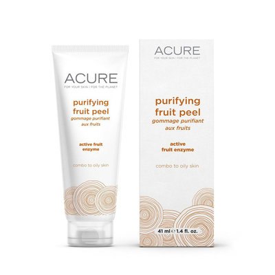 Purifying Fruit Peel Acure Organics 1.4 oz Liquid