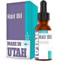 FLASH SALE - Hair Oil Unscented Formula For Hair Health, With Argan Oil, Jojoba Oil, Almond Oil and 6 Other Nutrient Rich Oils Including Vitamin E, Promotes Healthy Hair And Fight Common Hair Problems