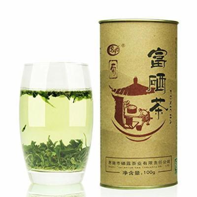 Organic High Mountain Before Bright Spring Tea Enshi Se-enriched Green Tea 100g