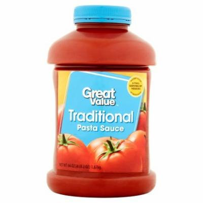 Traditional Pasta Sauce, 66 oz Use When Making Lasagna, Spaghetti, Meatloaf And Other Tasty Dishes