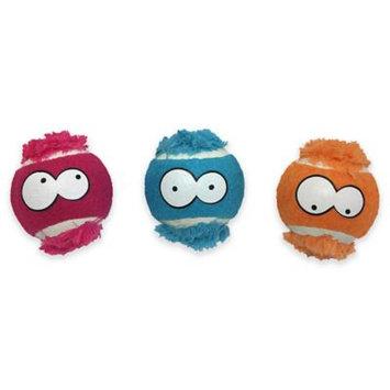 MultiPet Free Birdz™ 3-Pack Felt and Plush Balls Dog Toys