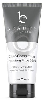 Beauty By Earth Clear Complexion Hydrating Facial Mask - Organic & Natural Ingredients Including Kaolin and Bentonite Clay