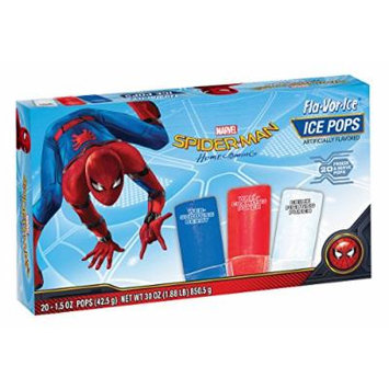Flavor Ice Spider-Man Drink, 30 Ounce (Pack of 12)