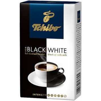 3 Packs of Tchibo Black and White Ground Coffee 8.8oz/250g x 3
