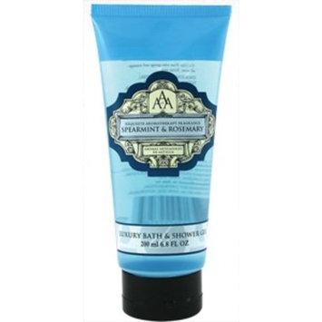 AAA Aroma Spearmint & Rosemary Luxury Bath And Shower Gel 200ml