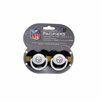 NFL Teams 2-Pack Baby Pacifiers (Pittsburgh Steelers) # SP2068