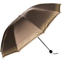 SumacLife Rainy/UV Travel Umbrella 44in (Coffee)