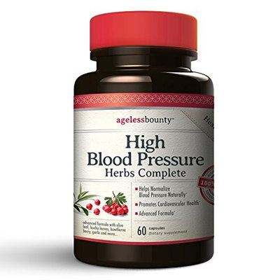 BEST in CLASS - Blood Pressure Support Supplements | Promotes Cardiovascular Health | Advanced Herbal Formula includes Coleus Forskohlii, Garlic, Hawthorne Berry, Olive Leaf extract, Juniper Berries