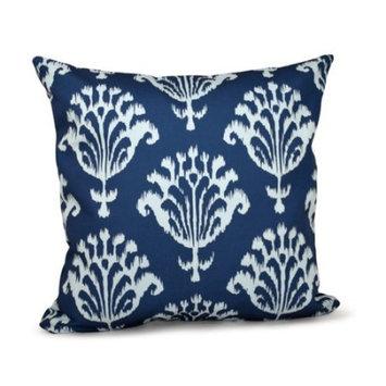 E By Design Floral Motif Decorative Throw Pillow