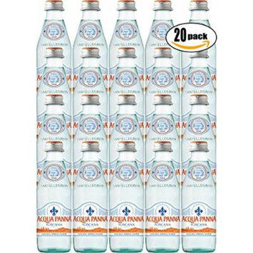 Acqua Panna Toscana Spring Water, 8.8oz Glass Bottle (Pack of 20)