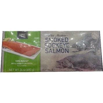 Kasilof Wild Alaskan Smoked Sockeye Salmon - 24oz