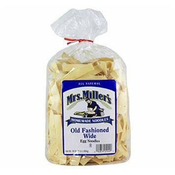 Mrs. Millers Old Fashioned Wide Noodles 16oz. Bag (3 Bags)